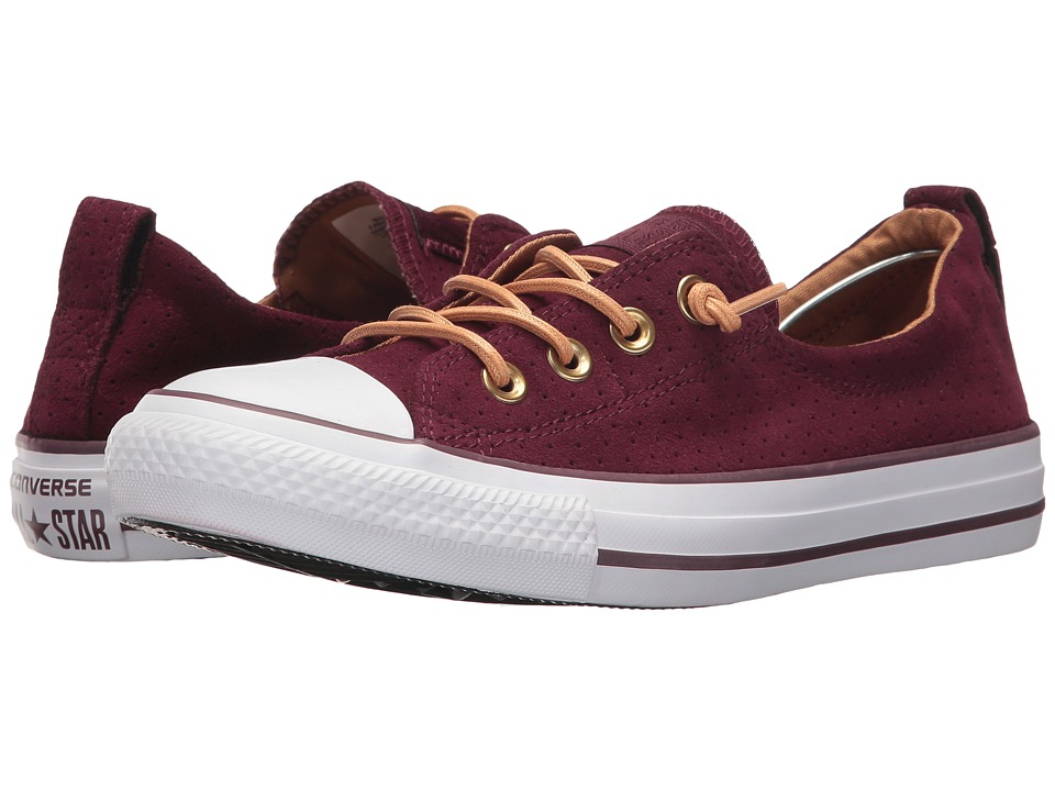 Converse - Shoreline Suede (Dark Sangria) Womens Classic Shoes