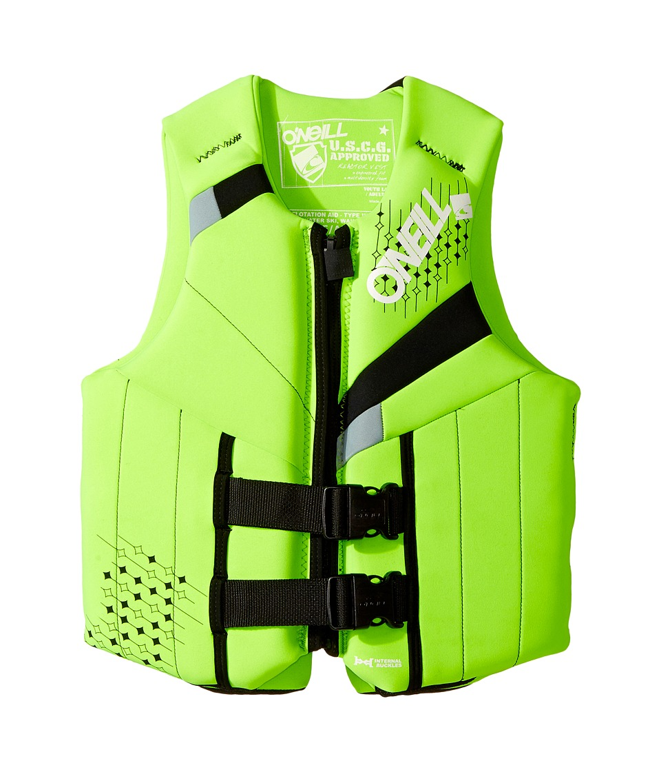 ONeill Kids - Teen USCG Vest (Big Kids) (Dayglo/Black/Flint) Kids Swimwear