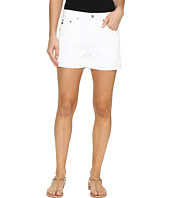AG Adriano Goldschmied - Hailey Boyfriend Shorts in White