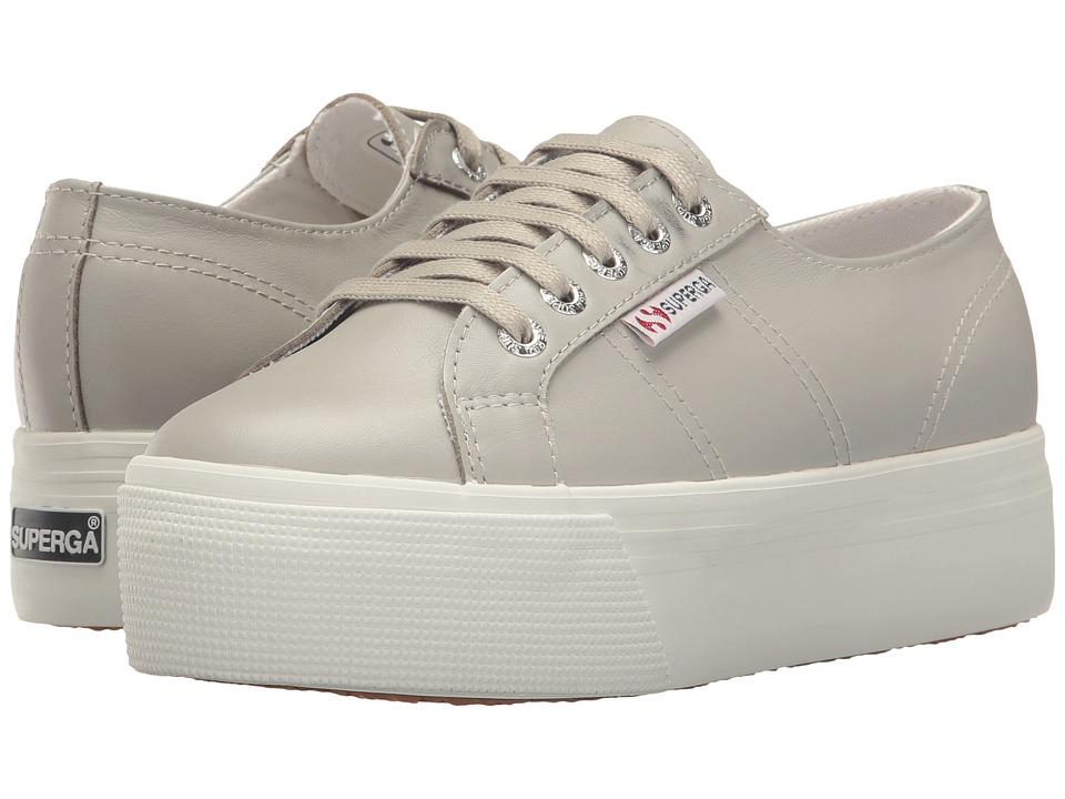 Superga 2750 FGLU Platform (Grey) Women