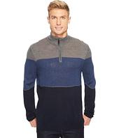 Dockers Men's - Soft Acrylic Yarn-Dye 1/4 Zip