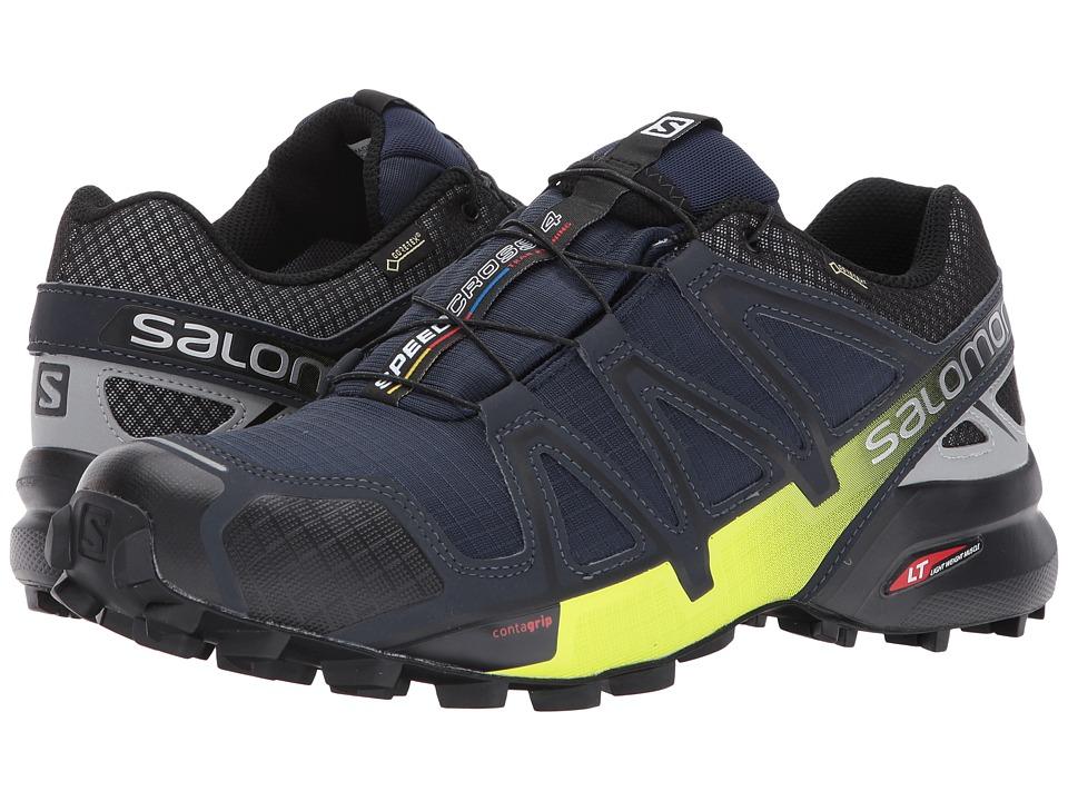 Salomon Speedcross 4 Nocturne GTX(r) (Navy Blazer/Ombre Blue/Lime Punch) Men