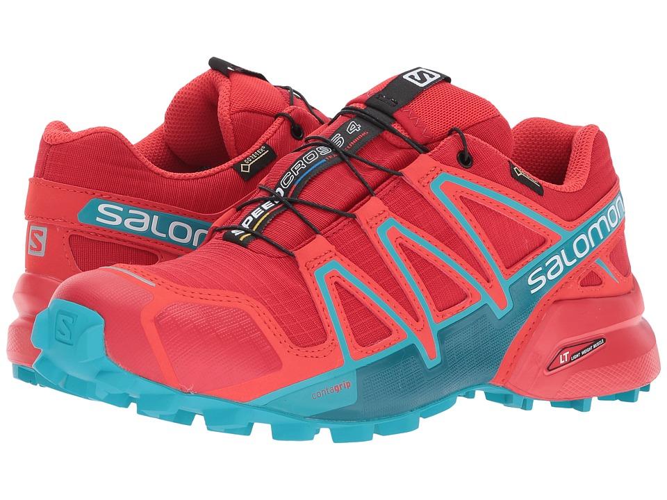 Salomon Speedcross 4 GTX (Barbados Cherry/Poppy Red/Deep Lagoon) Women