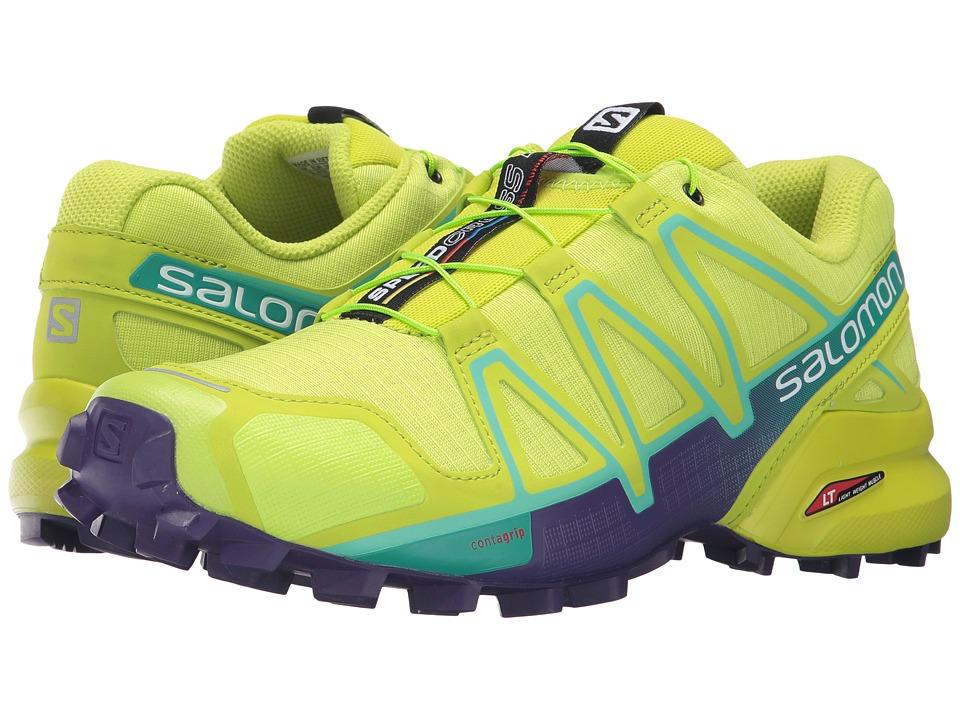 Salomon Speedcross 4 (Lime Punch/Biscay Green/Acai) Women