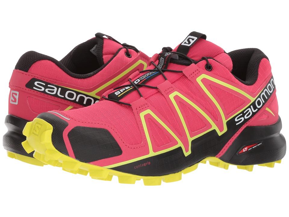 Salomon Speedcross 4 (Virtual Pink/Black/Sulphur Spring) Women