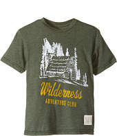 The Original Retro Brand Kids - Short Sleeve Heather Wilderness Tee (Big Kids)