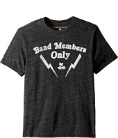 The Original Retro Brand Kids - Band Members Only Short Sleeve Tri-Blend Tee (Big Kids)