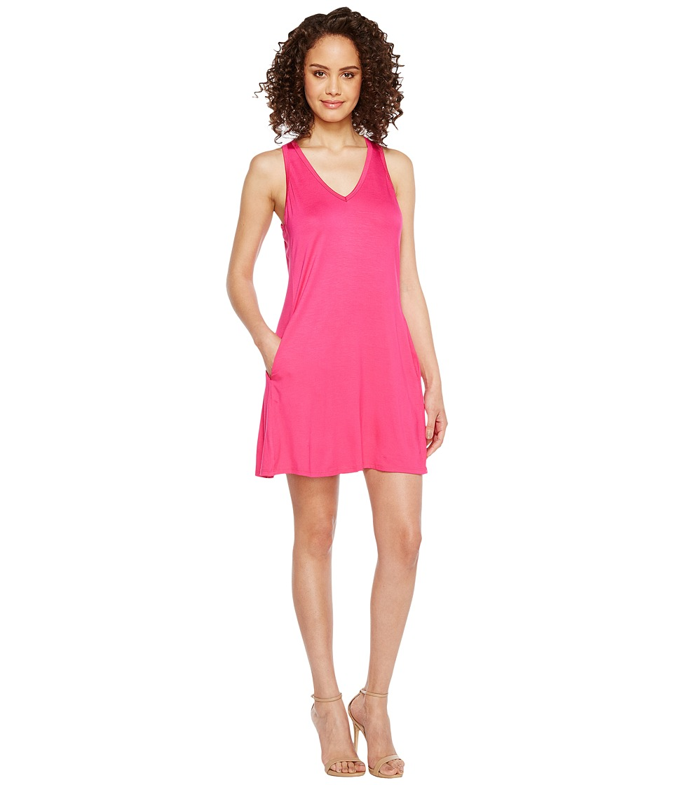 Trina Turk Alcatraz Dress (Brilliant Fuchsia) Women