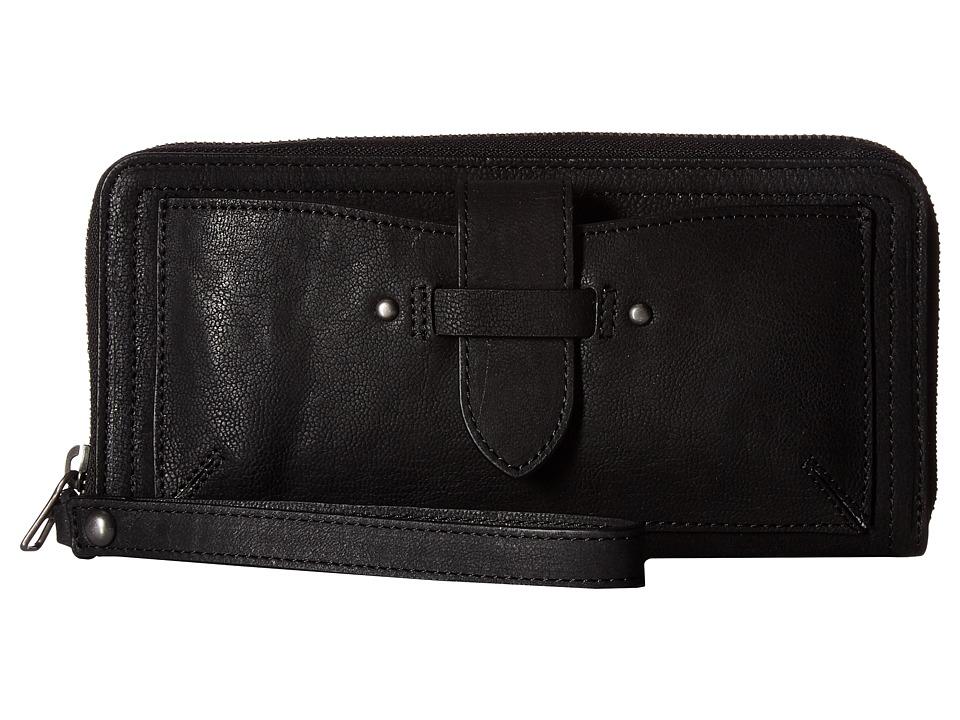 Lucky Brand Liza Wallet (Black) Wallet Handbags