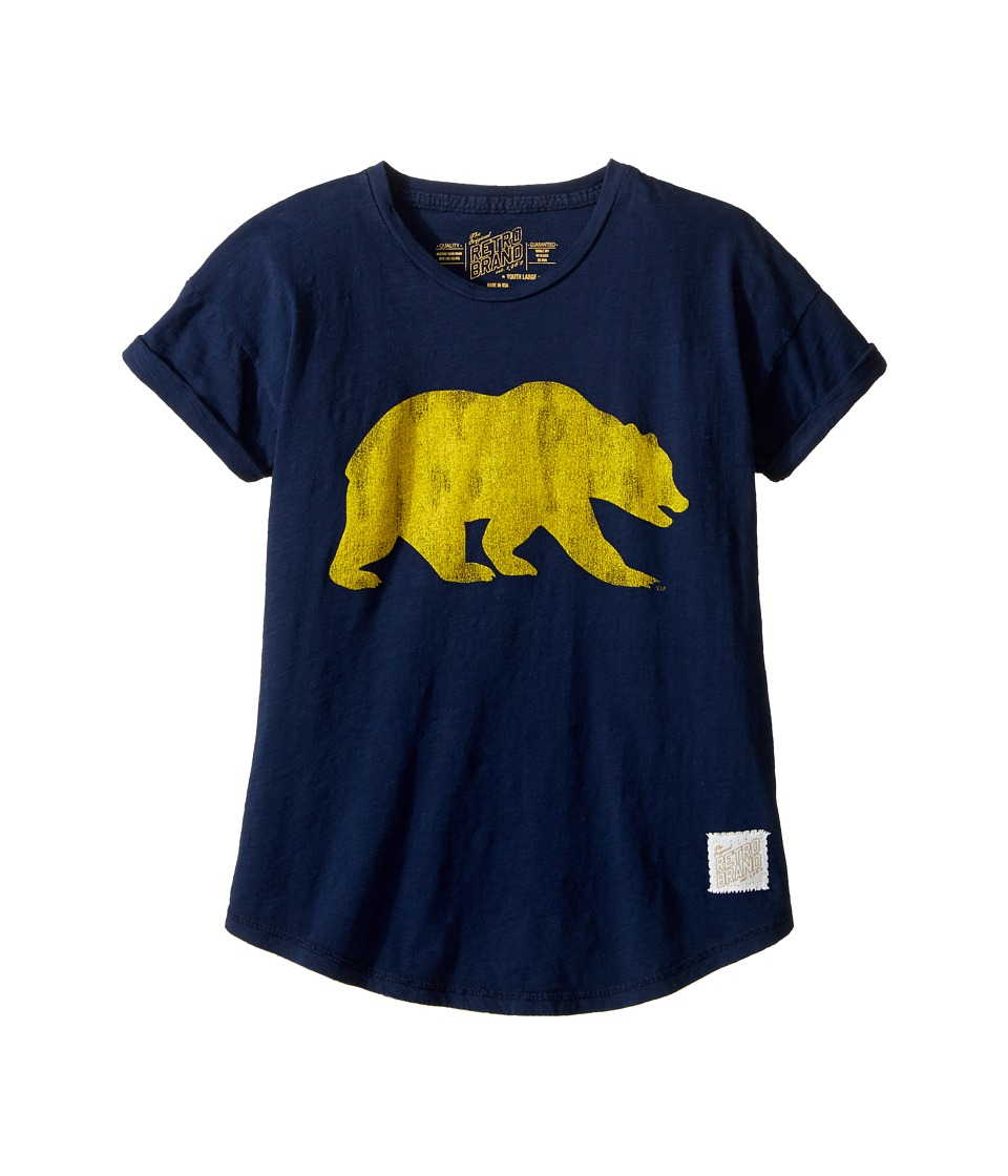 The Original Retro Brand Kids - Cal Bear Short Sleeve Crew Tee