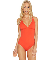 Tommy Bahama - Pearl Over-The-Shoulder Laced-Back One-Piece Swimsuit