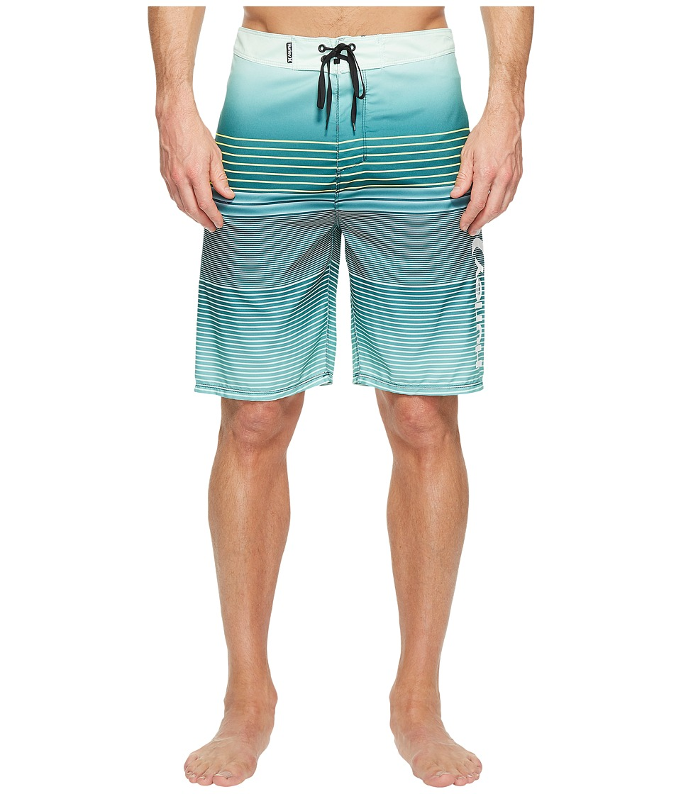 Hurley Clash 21 Boardshorts (Dark Atomic Teal) Men