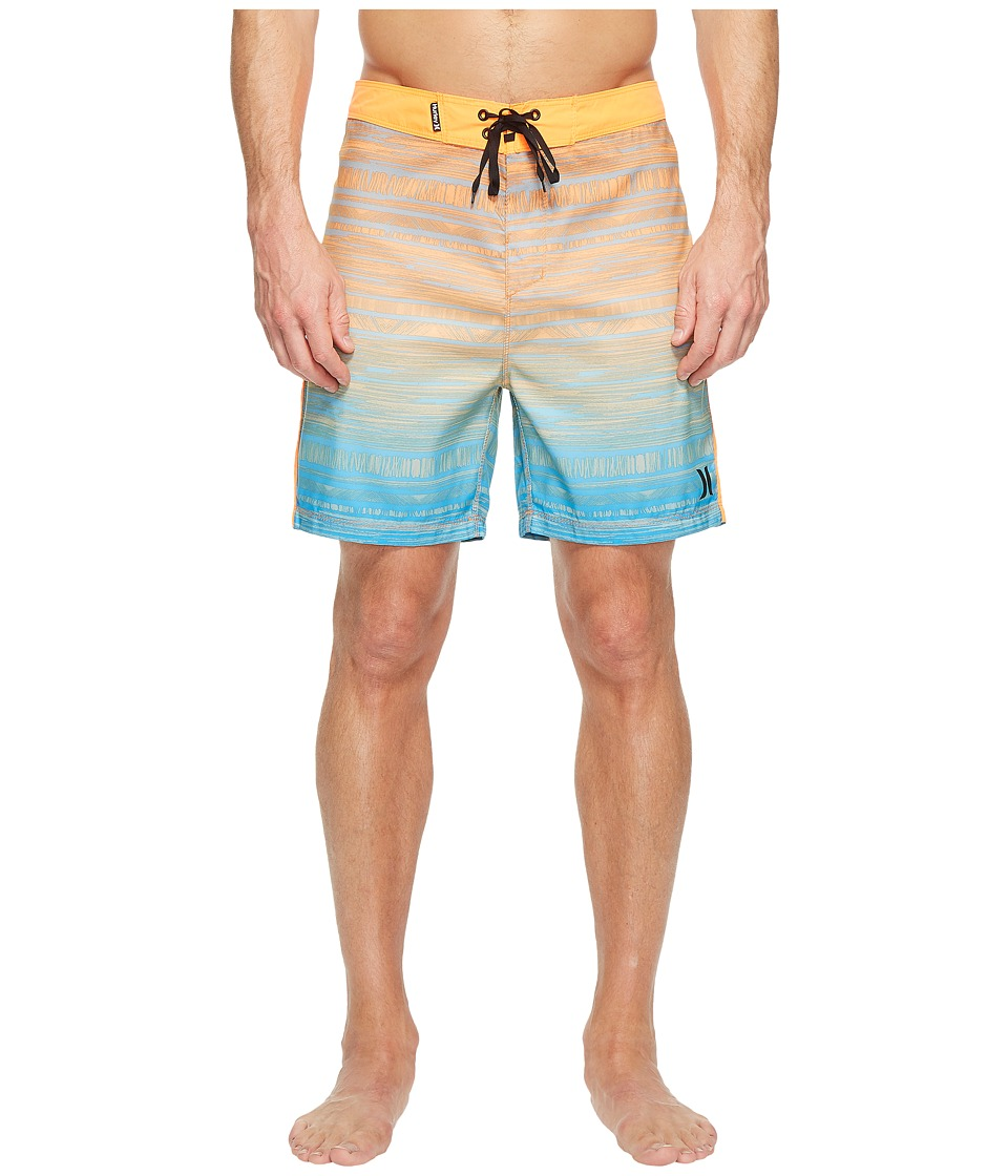 Hurley Natividad 18 Boardshorts (Total Orange) Men