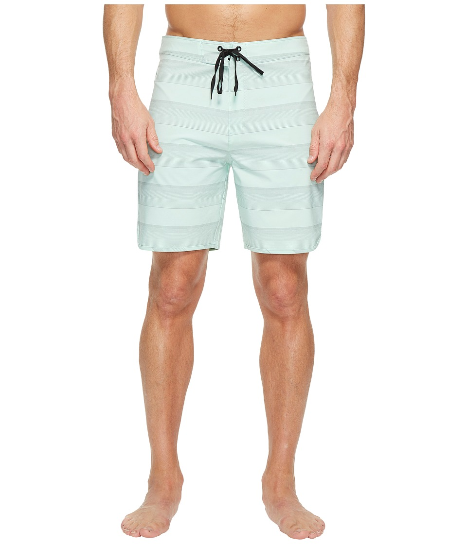 Hurley Phantom Strike 19 Boardshorts (Mint Foam) Men