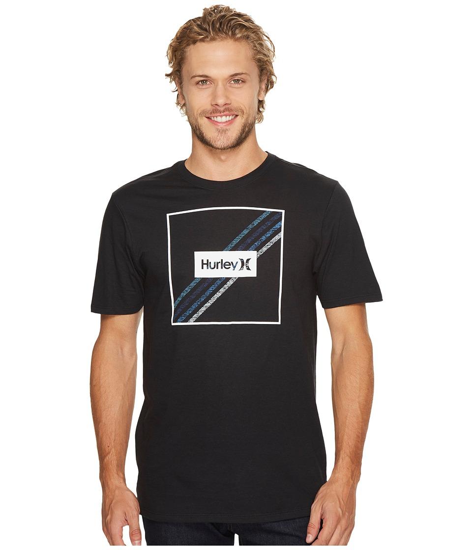 Hurley Steps T-Shirt (Black) Men