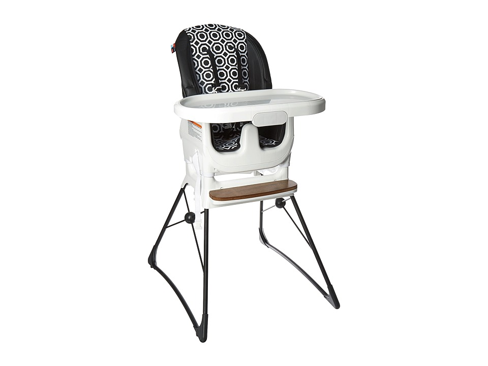 Fisher Price - Delux High Chair By Jonathan Adler (Black/White) Carriers Travel