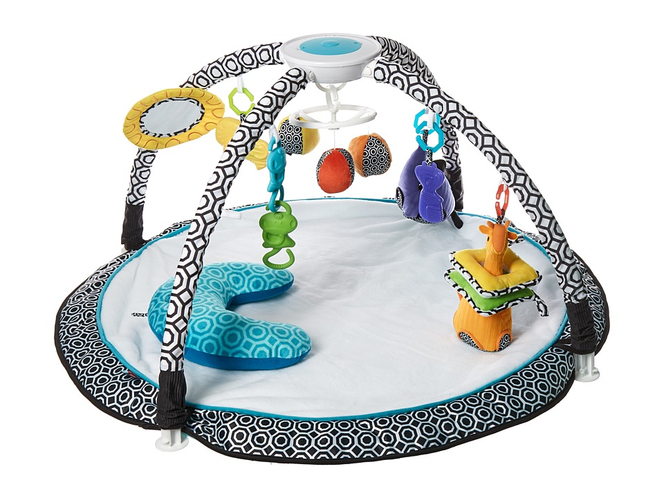 Fisher Price - Sensory Gym By Jonathan Adler (Black/White) Carriers Travel
