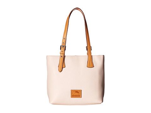 Dooney & Bourke Patterson Emily Shoulder Bag - Blush w/ Butterscotch Trim