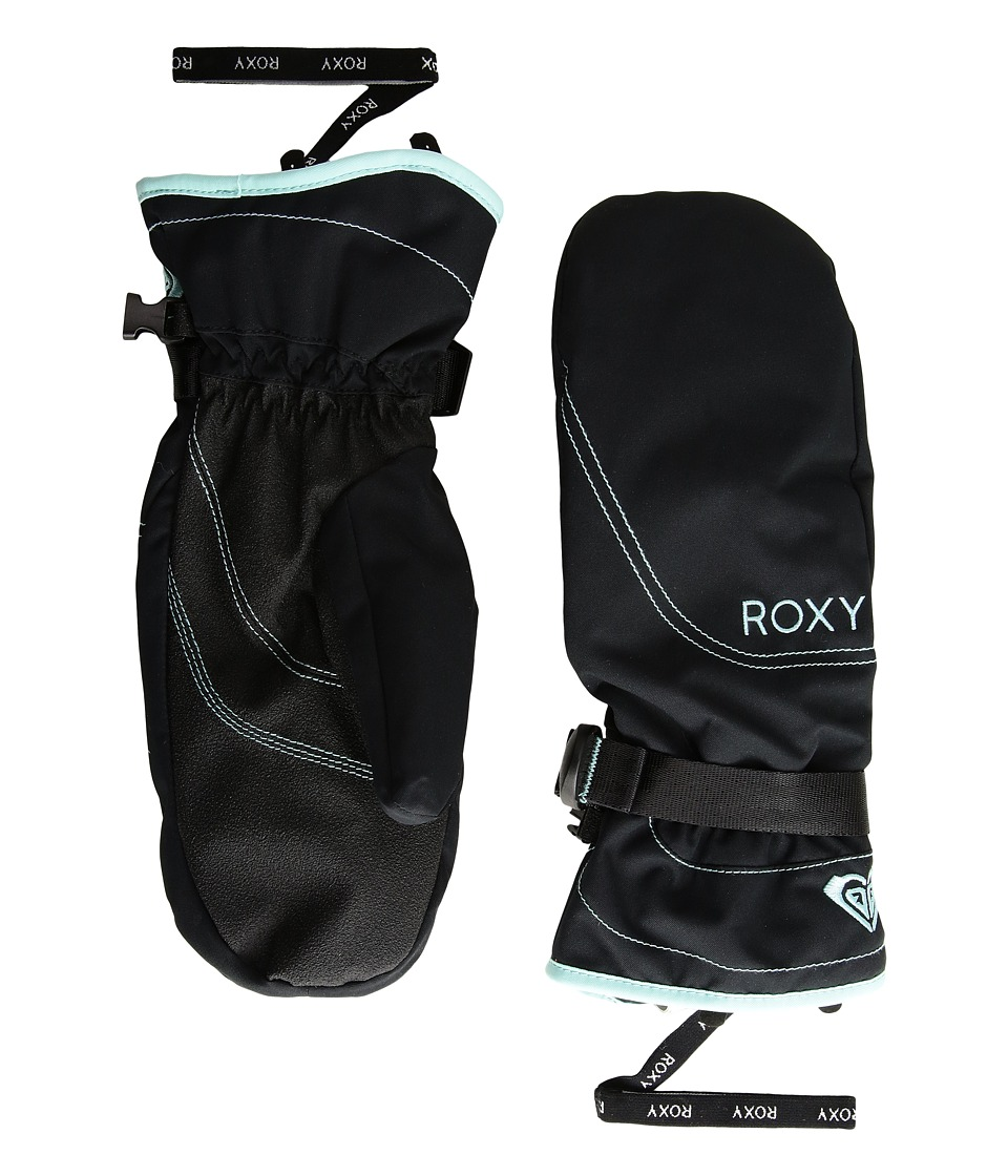 Roxy Roxy Jetty Solid Mitt (True Black) Extreme Cold Weather Gloves
