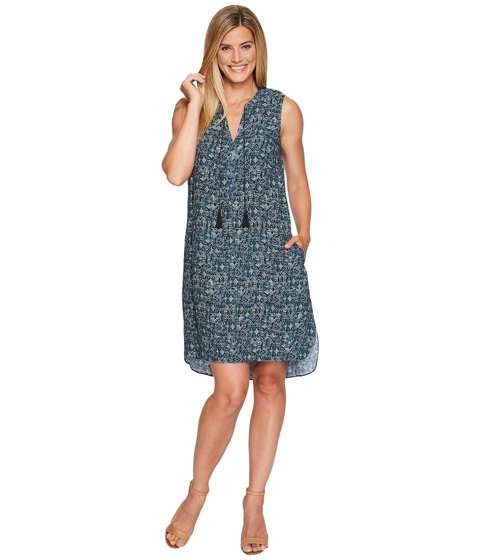 NIC+ZOE Seaglass Tassel Dress (Multi) Women