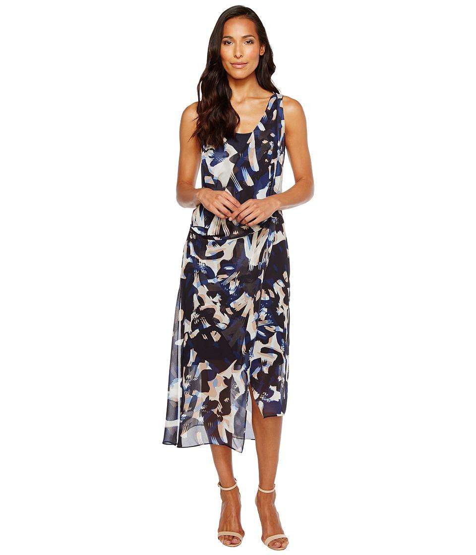 NIC+ZOE Shadowbloom Dress (Multi) Women