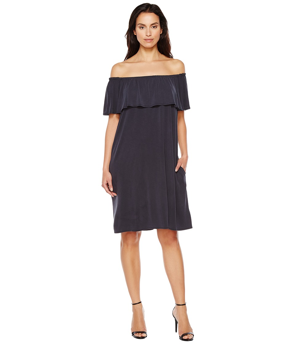 NIC+ZOE Boardwalk Convertible Dress (Washed Midnight) Women