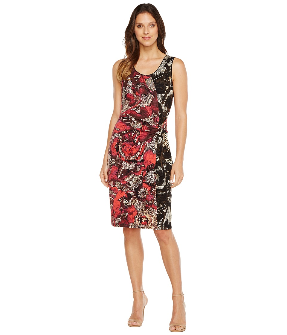 NIC+ZOE Etched Floral Dress (Multi) Women