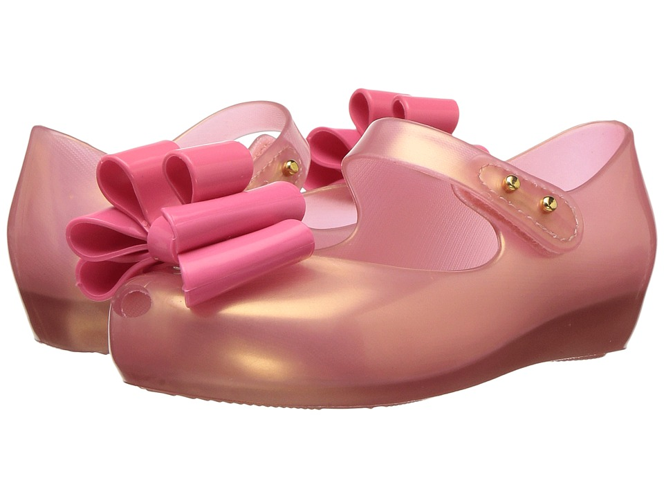 Mini Melissa Mini Ultragirl Sweet III (Toddler/Little Kid) (Light Pink/Pearl) Girl's Shoes