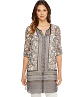 NIC+ZOE - Mirrored Monkeys Tunic Top