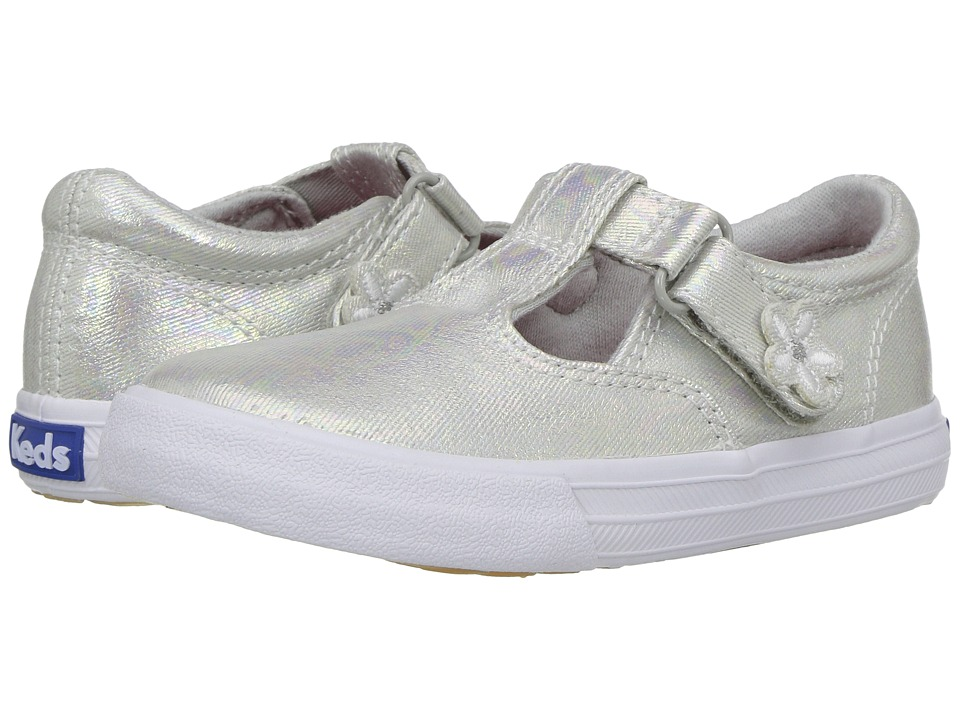 Keds Kids Daphne (Toddler/Little Kid) (Grey Iridescent) Girl's Shoes