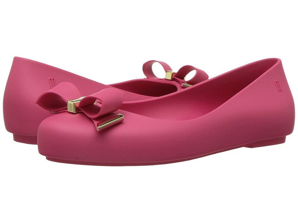 Mini Melissa Mel Space Love (Little Kid/Big Kid) (Fuchsia) Girl's Shoes