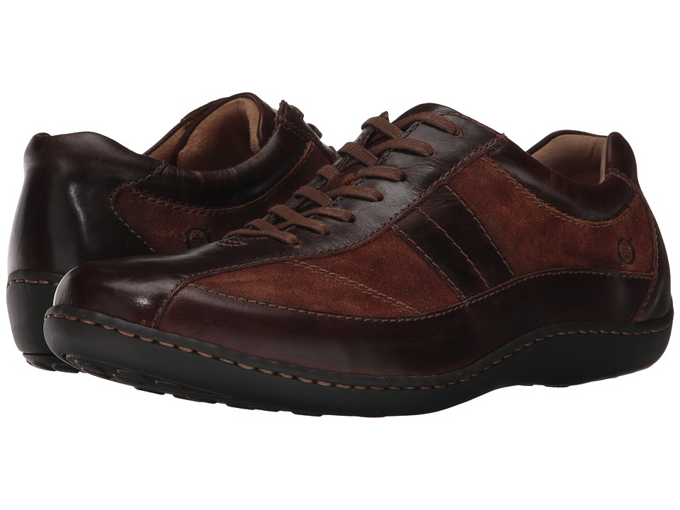 Born - Breves (Tan/Rust Combo) Mens Lace up casual Shoes