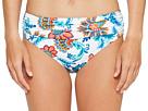 Fira Floral High-Waist Sash Bikini Bottom