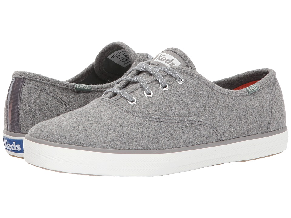Keds Champion Wool (Gray) Women