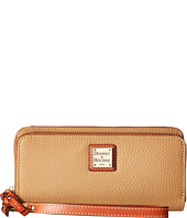 Dooney & Bourke - Pebble Double Zip Wallet