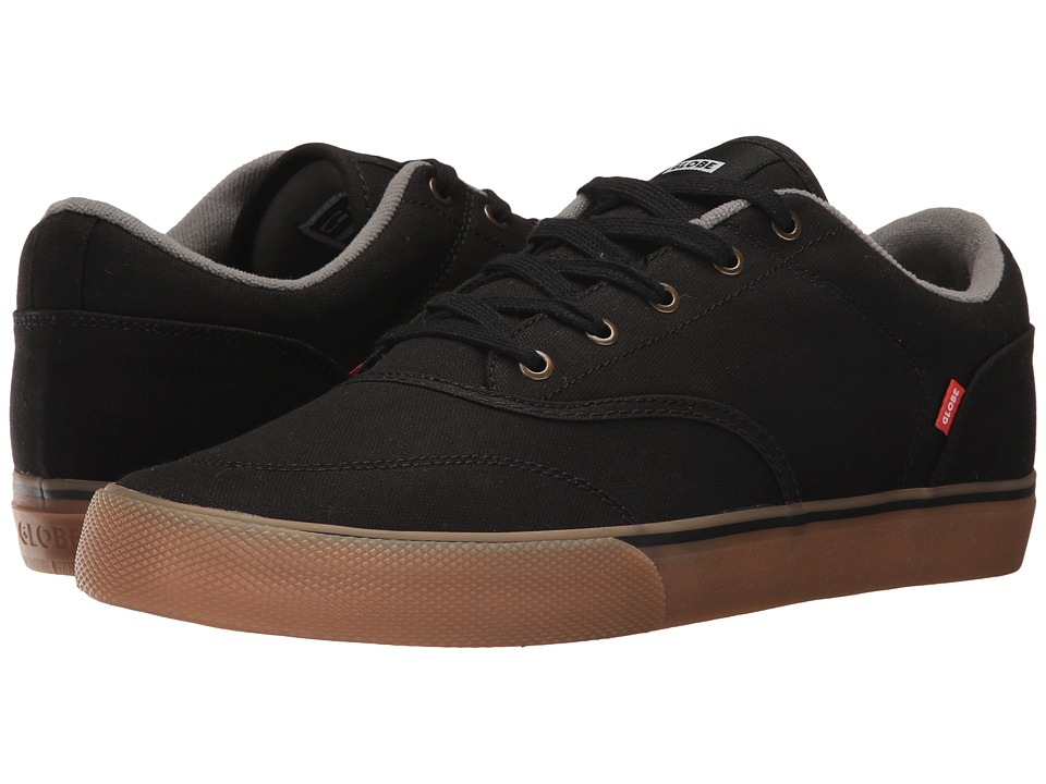 Globe - Tribe (Black Canvas/Gum) Mens Skate Shoes