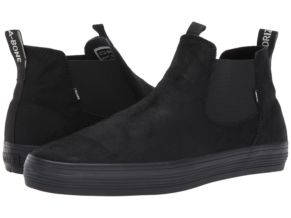 Globe - Dover (Black Driza/Bone) Mens Skate Shoes