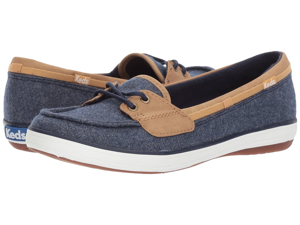 Keds Glimmer Wool (Navy) Women