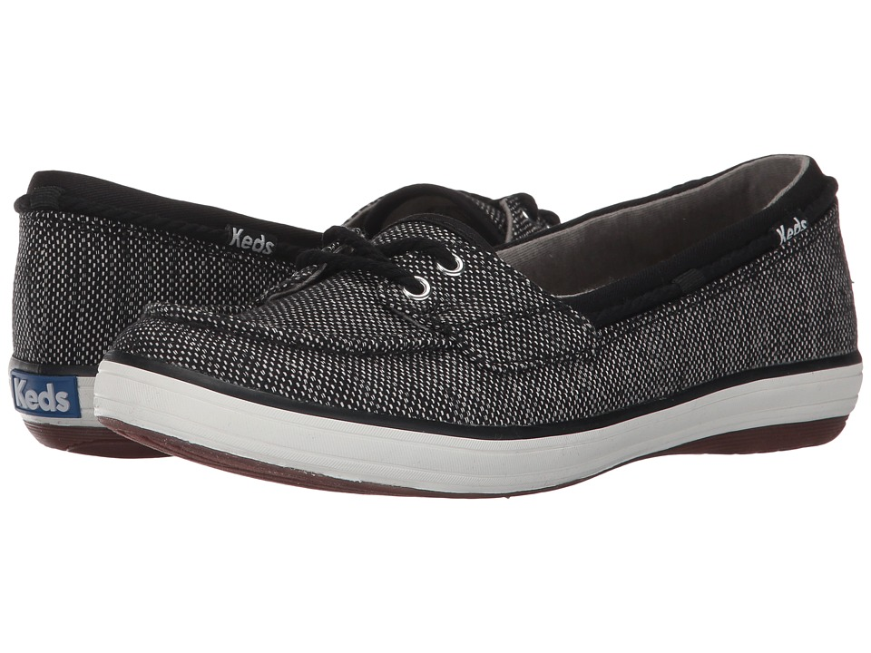 Keds Glimmer Salt Pepper (Black) Women