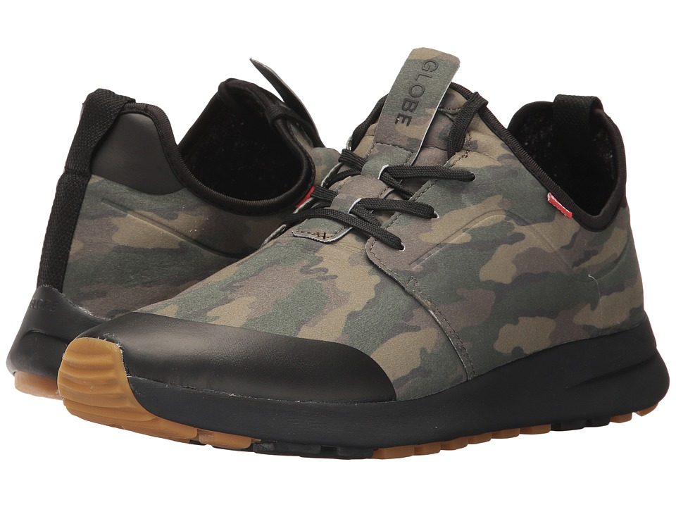 Globe - Dart Lyte XC (Camo) Mens Lace up casual Shoes