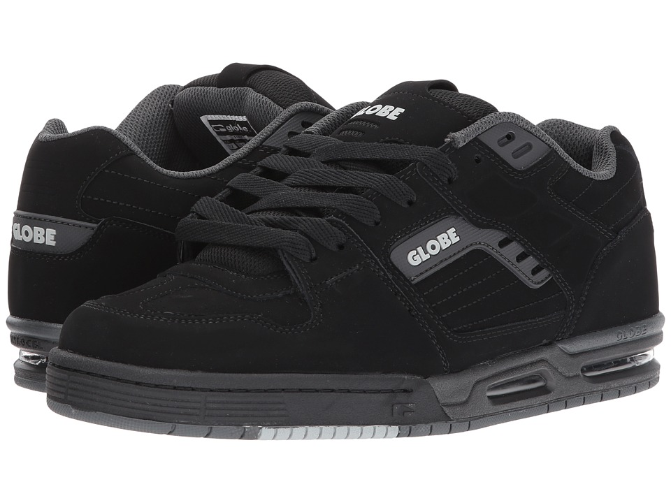 Globe - Fury (Black/Black) Mens Lace up casual Shoes