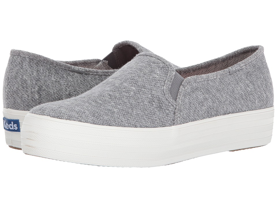 Keds Triple Decker Sweatshirt Jersey (Gray) Women