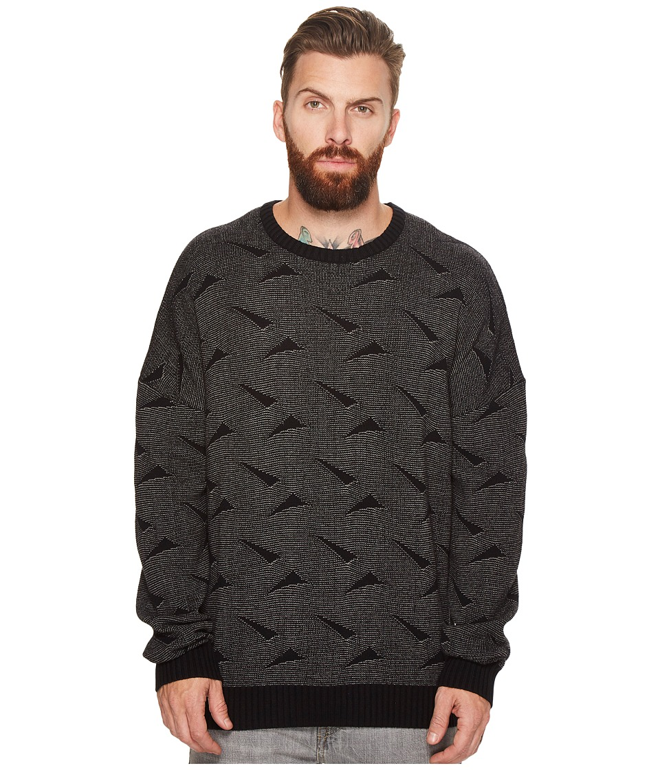 Globe Dion Triangles Sweater (Charcoal) Men