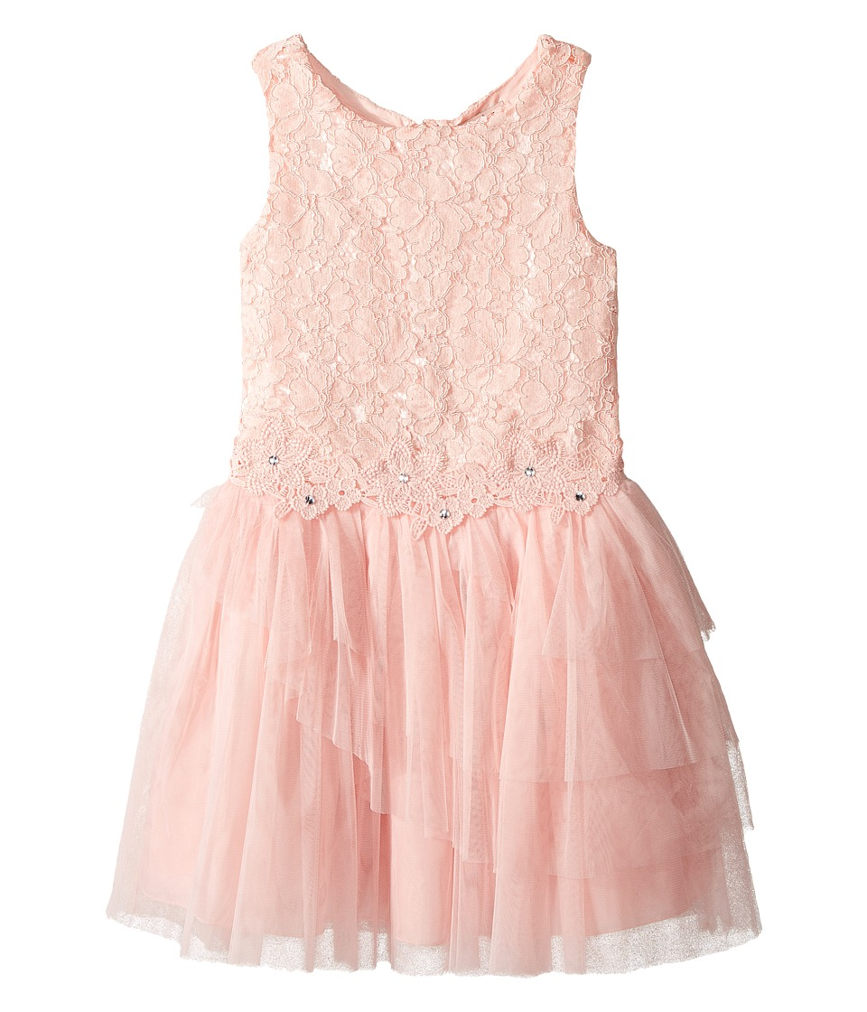 Nanette Lepore Kids - Lace Dress with Tulle and Flowers