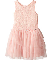 Nanette Lepore Kids - Lace Dress with Tulle and Flowers (Little Kids/Big Kids)