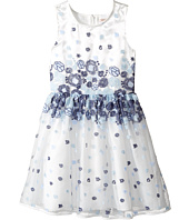 Nanette Lepore Kids - Embroidered Blue Floral Dress (Little Kids/Big Kids)