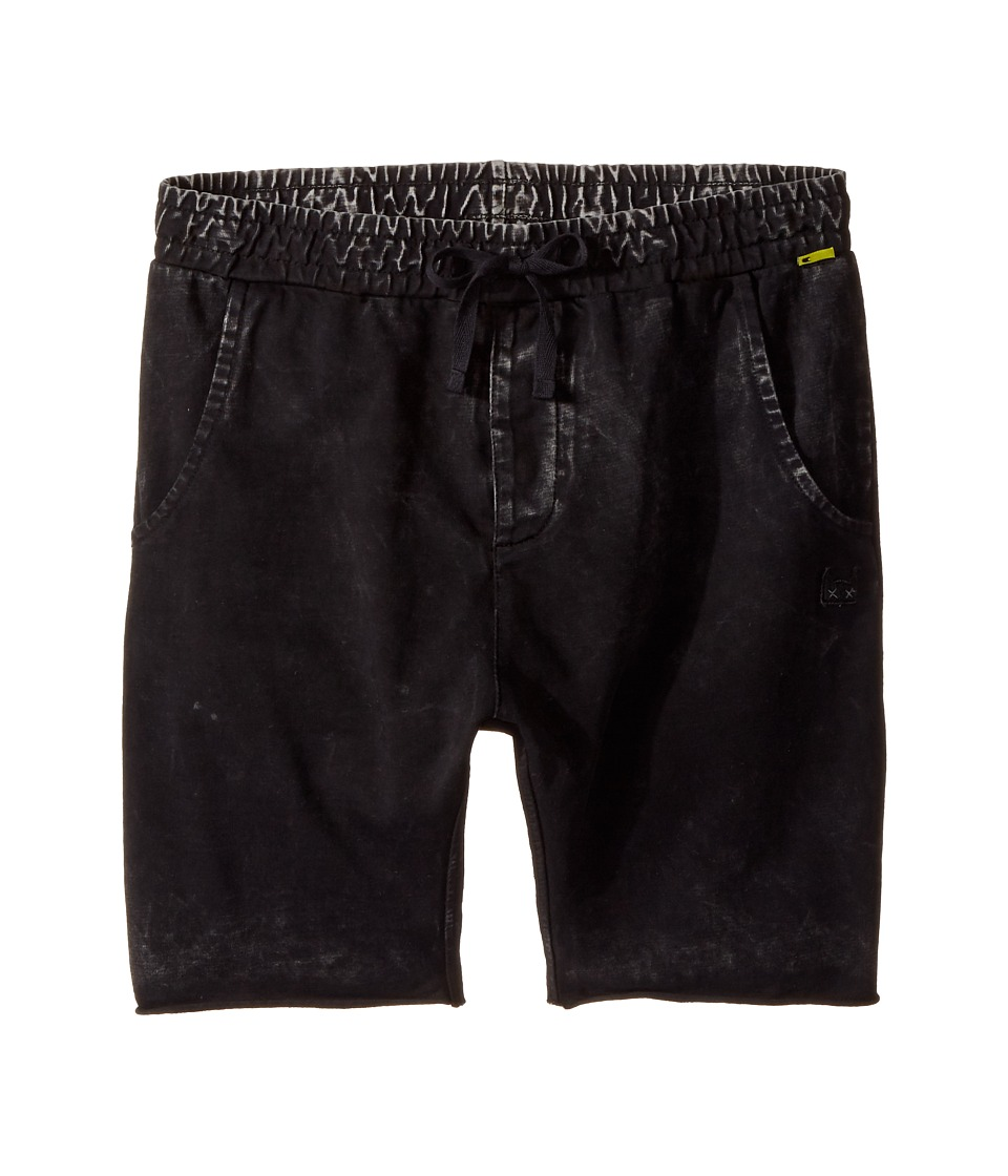 Munster Kids - Kash Walkshorts (Toddler/Little Kids/Big Kids) (Pigment Black) Boys Shorts
