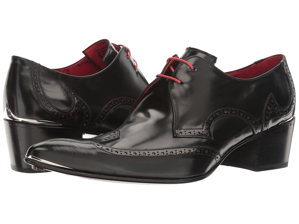Jeffery-West - Arrow Wing Gibson (College Black) Mens Shoes