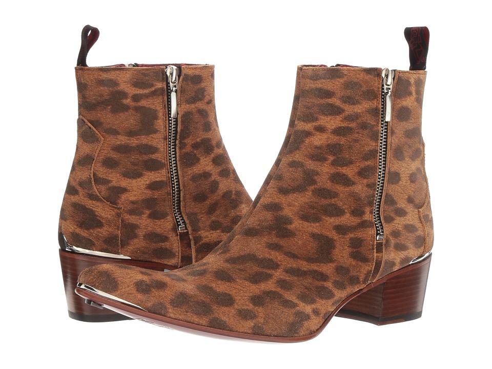 Jeffery-West Sylvian Zip (Leopard) Men