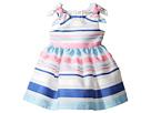 Nanette Lepore Kids - Stripe Organza Dress (Infant)